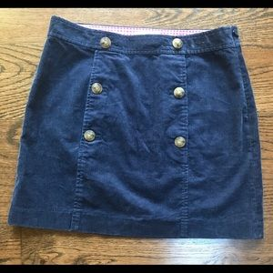Vineyard Vines corduroy skirt size 2